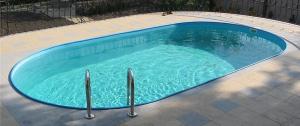 Сборный бассейн Summer Fun 4501010241KB овальный 525х320х150 см