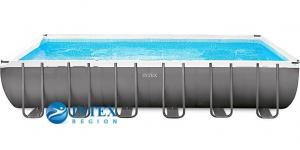 Каркасный бассейн Intex 26364-02 732х366х132 Rectangular Ultra XTR Frame