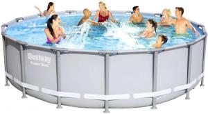 Каркасный бассейн Bestway 56451 488х122  Power Steel