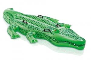 Надувная игрушка Крокодил 4 ручки Intex арт.58562 203х114см, от 3 лет